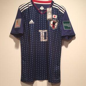 Japan Atom TV Series Soccer Jersey